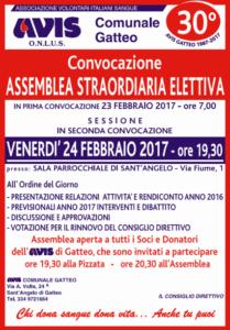 Gatteo: Assemblea Avis @ Sala Parrocchiale di Sant'Angelo - Via Fiume 1
