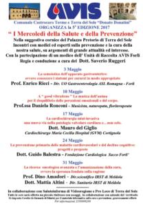 """Castrocaro: """"I mercoledì della salute"""" 1° evento @ Palazzo pretorio -Terra del Sole"""