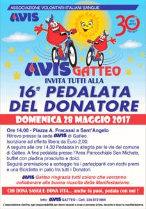 Gatteo: 16° Pedalata del Donatore @ Piazza Fracassi -  Sant'Angelo