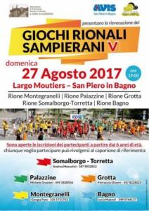 San Piero in Bagno: Giochi Rionali Sanpierani V @ Largo Mouties - San Piero in Bgano