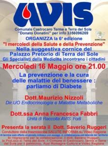 Castrocaro: I mercoledì della salute e della prevenzione @ Palazzo Pretorio, Terra del Sole