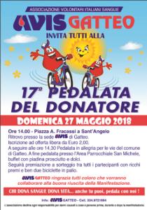 Gatteo: 17° pedalata del donatore @ Piazza A. Fracassi  a Sant'Angelo