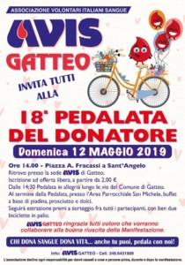 Gatteo: 18° pedalata del Donatore @ Piazza A. Fracassi S.Angelo