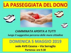 Cesena: la passeggiata del dono @ Sede Avis Cesena
