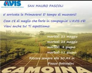 S.Mauro Pascoli: Camoina @ Piazza Battaglini