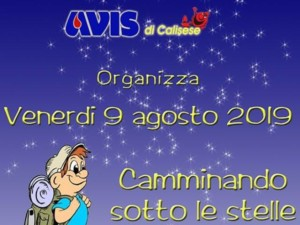 Calisese: camminando sotto le stelle
