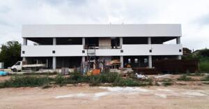 Il cantiere della nuova sede Avis Cesena in via Case Missiroli