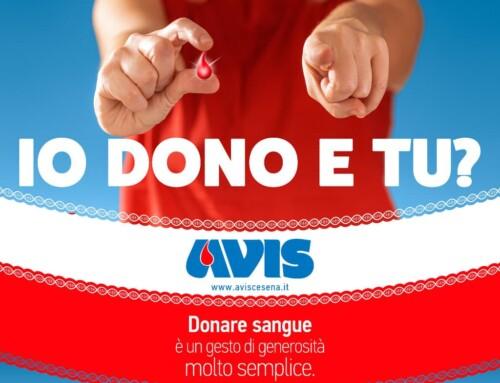 """""""Io dono e tu?"""": la nuova campagna di comunicazione di Avis Cesena"""