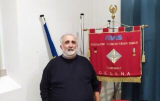 Il presidente Avis Cesena Gualtiero Giunchi