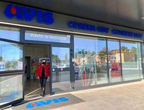 Prime donazioni nella nuova sede di Avis Cesena