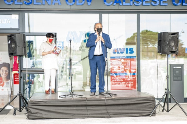Inaugurazione nuova sede: l'intervento del sindaco di Longiano Battistini