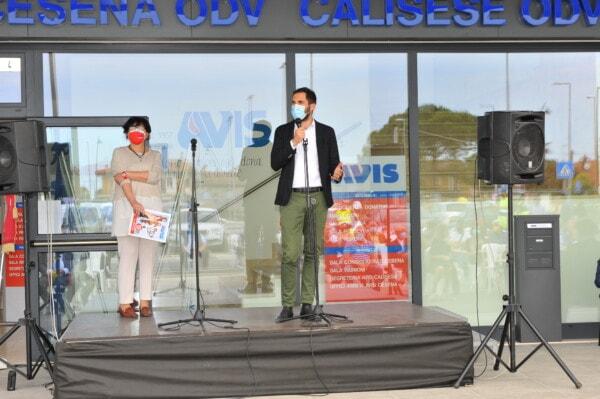 Inaugurazione nuova sede: l'intervento del sindaco di Cesena Lattuca