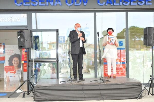 Inaugurazione della nuova sede Avis: l'intervento di Claudio Lelli, già presidente di Avis Forlì-Cesena