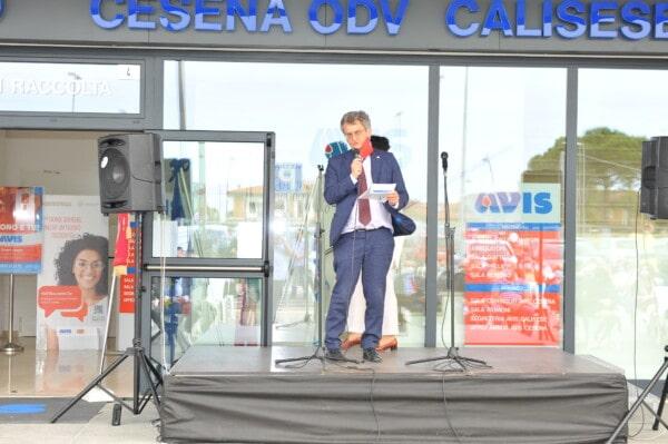 Inaugurazione della nuova sede Avis: l'intervento di Maurizio Pirazzoli, presidente regionale Avis Emilia Romagna